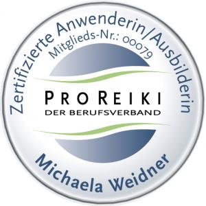 ProReiki Ausbilder-Logo - Reiki in Baden-Württemberg