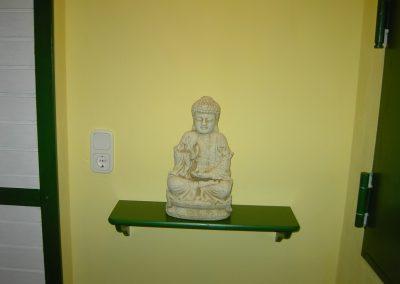 Flur Energetische Heilpraxis Reiki-Fit - Buddha