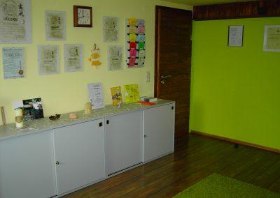 Behandlungsraum Energetische Heilpraxis Reiki-Fit - Eingangsbereich