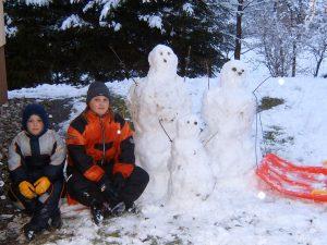 Reiki-Kindergeschichten - Der Schneemann
